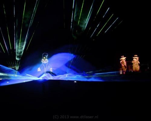 Attractiepark Slagharen Miracle Of Lights Lampjes Multimediashow Laser Lasershow Lasereffecten