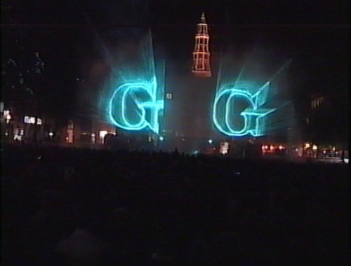 Gronings Ontzet, Laserprojectie, Waterscherm, Parabool, Multimediashow