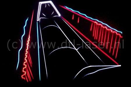 Balgstuw lasershow