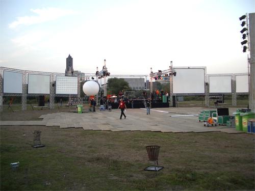 Arnhem projectie schermen