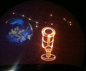 Lasershow, laseranimatie,Flight Into History Show, Themashow