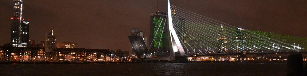 Rotterdam, Laserprojectie, Laserprojectie gebouw