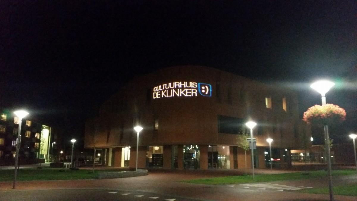 Laserprojectie De Klinker Winschoten