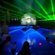 Projectiescherm Projectiebol Laser Projectie