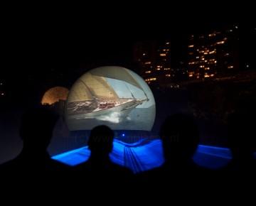 Monaco Projectiescherm Projectiebol Projectie