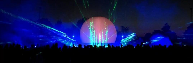 Multimedia show , lasershow, vuurwerk ,Sportclub Silvolde 100 jaar