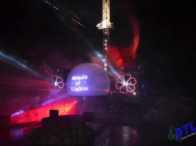 Slagharen, Miracle Of Lights, Laserprojectie, Projectiebol,Lasershow, Multimedia Show