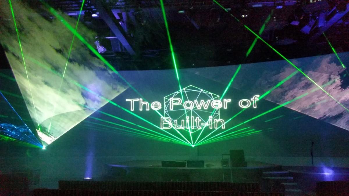 Bosch Siemens Neff Lasershow Binnen Effecten Scherm