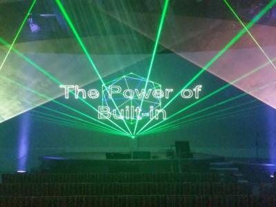 Bosch Siemens Neff Multimediashow Laser Lasershow Productpresentatie Hoofddorp