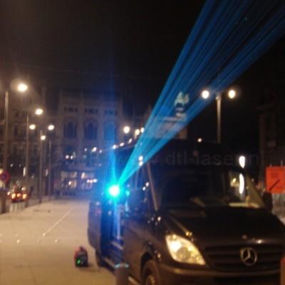 Batman, Rotterdam, Logo, Billboard, projectie, Laserprojectie, projectie op gebouw, guerilla reclame projectie