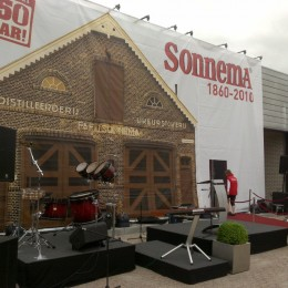 Valdoek Sonnema Bolsward Opening Projectiescherm Valscherm Huis