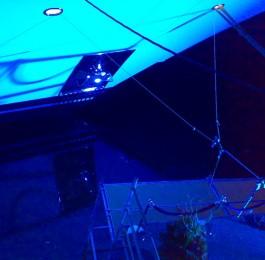 De Vries Uitlichten Boot Architectural Lighting Yachts Blauw