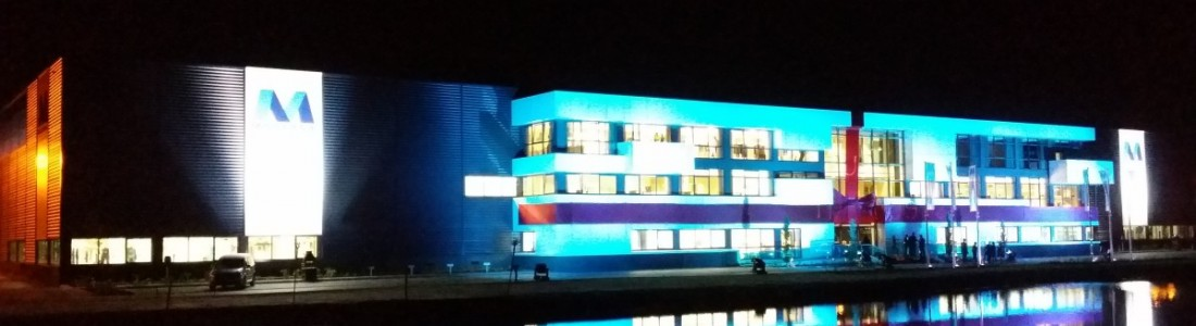 Moderna Architectural Lighting Gebouw Uitlichten