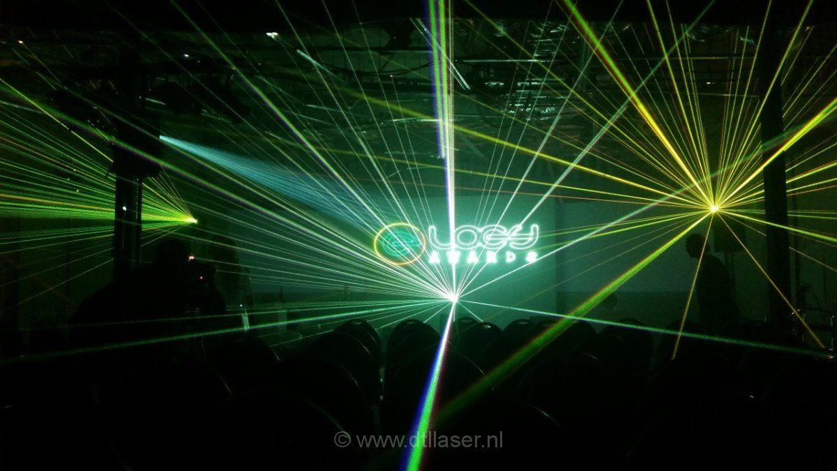 Loey Awards lasershow