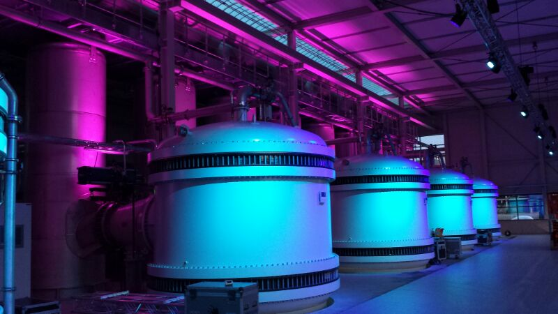 Andijk Architectural Lighting Indoor Uitlichten Blauw