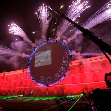 Deventer Boreel Multimediashow Cirkel Vuurwerk