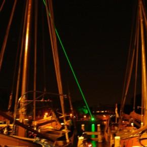 Pyramide Nemo Rob Schrama Lasershow Laser Kunst Boten