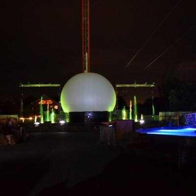 Slagharen Waterfontein Projectiebol Multimediashow Laser