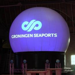 Eemshaven Groningen Seaports, Laserprojectie, Projectiebol