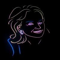 Huwelijks Show Themashow Laser Lasershow Animatie Gezicht