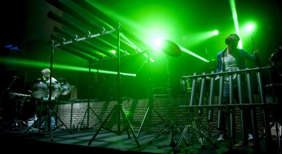 Percussie Laserharp Ecoustic Laser Lasershow Laseracts