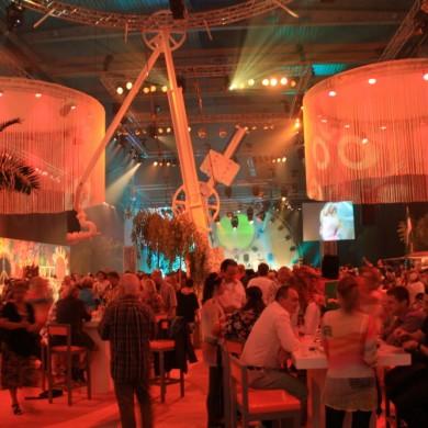 Antwerpen Architectural Lighting Indoor Uitlichten Oranje