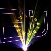 lasershow laseranimatie Europa show
