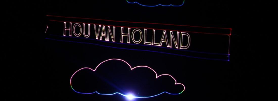 Typisch Nederlands Show, Themashow, Lasershow, laser animatie, Hou Van Holland
