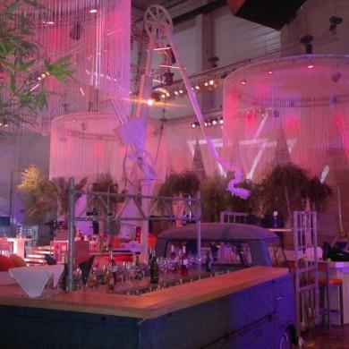 Antwerpen Architectural Lighting Indoor Uitlichten Roze