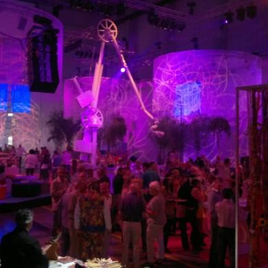 Antwerpen Architectural Lighting Indoor Uitlichten Paars