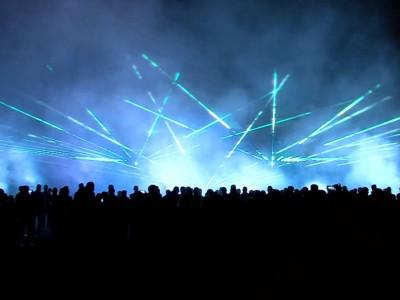Lasershow sportclub Silvolde 100 jaar