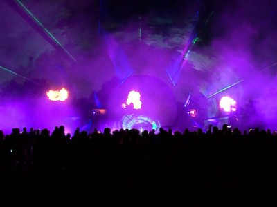 Sportclub Silvolde Multimedia Laser licht Show Projectiebol