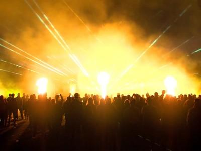 Multimedia lasershow Sportclub Silvolde vuurwerk