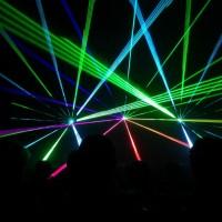 Bruiloft lasershow