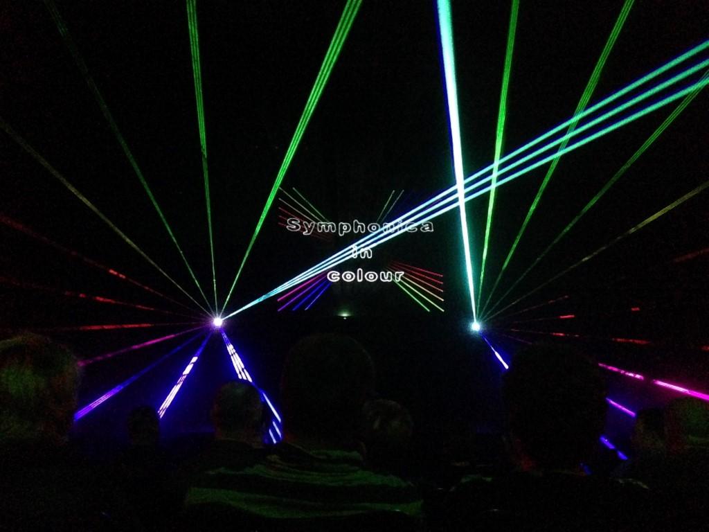 Smurfitkappa Lasershow Binnen Effecten Animatie