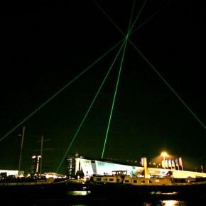 Pyramide Nemo Rob Schrama Lasershow Laser Kunst Amsterdam