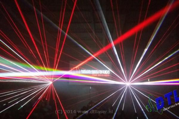 Lasershow van Wijnen