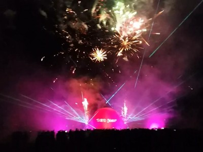 Multimedia lasershow Silvolde