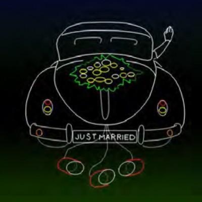 Huwelijks laserhow, Lasershow, laseranimatie, Bruiloftshow, Auto