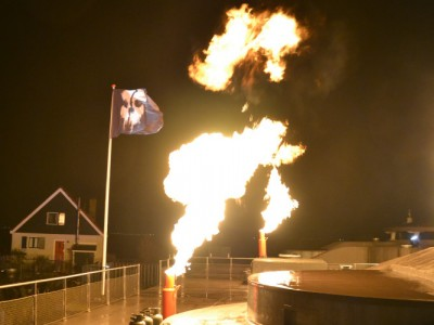 Pampus Call Of Duty Special Effects Flames Vlag