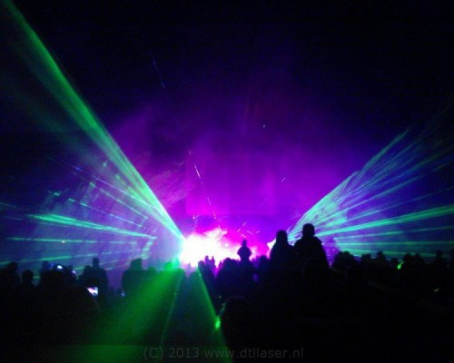 Damwoude Koninginnedag Lasershow Show Laser Lasereffecten