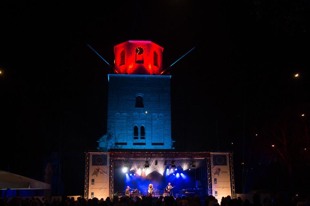 Verlichting kerktoren Emmen