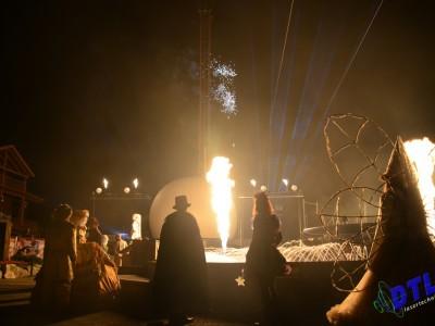 Slagharen Vlammen Multimediashow Special Effects Flames FX Show