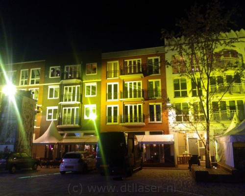 Zaailand Leeuwarden, uitlichten, van gevels