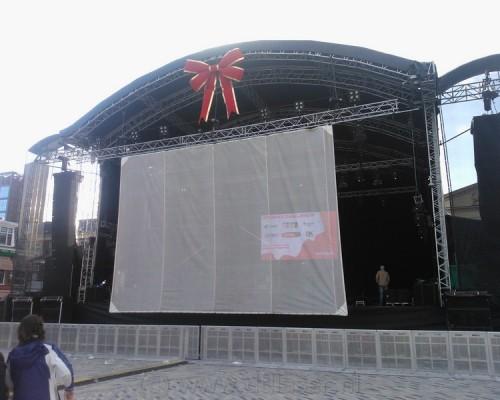 Zaailand Leeuwarden Projectiescherm Projectie Schuifschermen