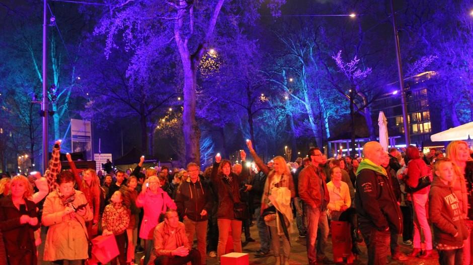 Bomen Uitlichten Architectural Lighting Emmen Opening Marktplein