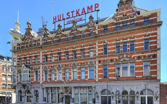 Hulstkamp gebouw sfeervol binnen uitgelicht