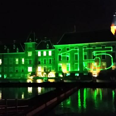Lasershow Vuurwerk Staatsloterijshow Den Haag Oudjaarsnacht Laser Projectie