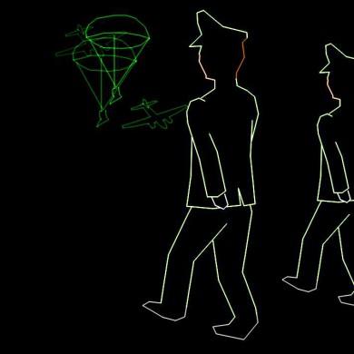 Bevrijding Show Themashow Laser Lasershow Animatie Mars