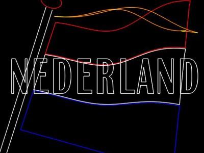 Koningsdag Show Themashow Lasershow Laser Animatie Nederlandse Vlag